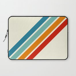 Alator - Classic 70s Retro Summer Stripes Laptop Sleeve