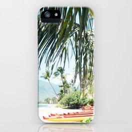 Aloha Sugar Beach iPhone Case