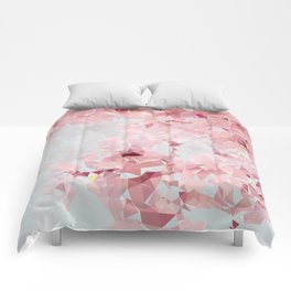 Meshed Up Sakura Blossoms Comforters
