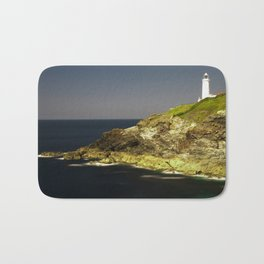 Trevose Head Lighthouse, Cornwall, United Kingdom Bath Mat