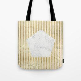 Inverse penta gold Tote Bag