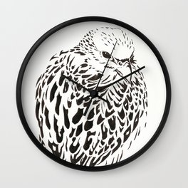 Gyrfalcon (Falcon) Wall Clock