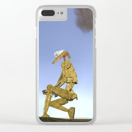 War Stars: Golden Boy Clear iPhone Case