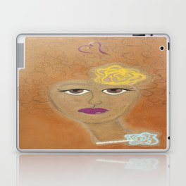 Golden Lady Laptop & iPad Skin