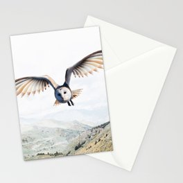 Pencil Owl Stationery Cards