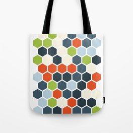 HEXAGONS - Blorangreen Tote Bag