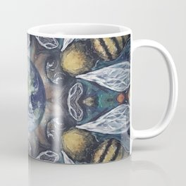 The Keepers of the Garden // Bee Beehive Insect Earth Nature Organic Sustainable Animal Environment Coffee Mug