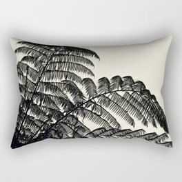 Palm Fan Rectangular Pillow