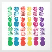 Pineapple Passion Art Print