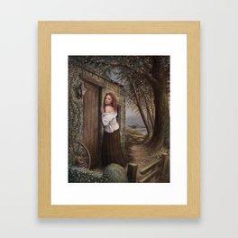 The Folly of Miss Woodruff Framed Art Print