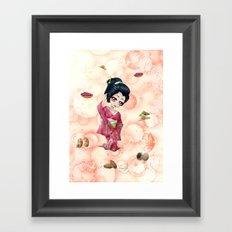 Omiyage régionaux - Regional omiyage Framed Art Print