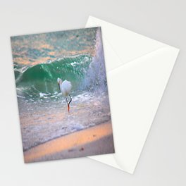 The Sun has set On The shoreline Stationery Cards