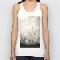 grass Tank Tops featuring Grass by Angela Fanton