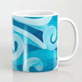Making Waves – Watercolor Sea Coffee Mug