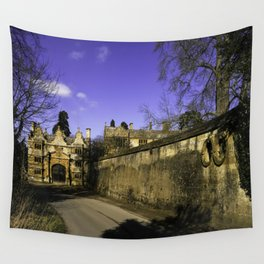 Manor Gatehouse  Wall Tapestry