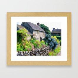 English Cottage 2 Framed Art Print