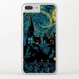 Magic Night Clear iPhone Case