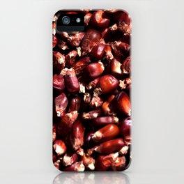 Red corn iPhone Case