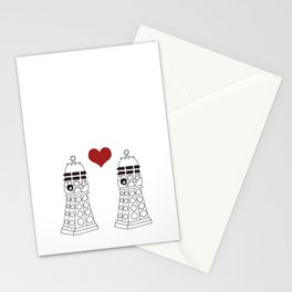 Daleks need love too Stationery Cards