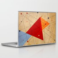 jazzberry Laptop & iPad Skins featuring knot by .eg.