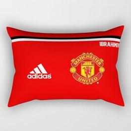Ibrahimovic Edition - Manchester United Home 2017/18 Rectangular Pillow