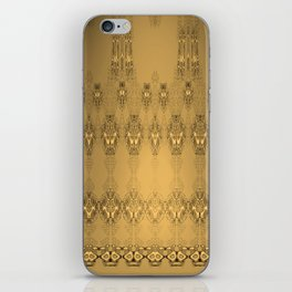 Golden Pattern Golden Luxury Week Tuesday iPhone Skin