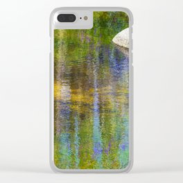 Reflections in Color Creek Clear iPhone Case