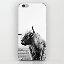 Highland Cow Art iPhone Skin
