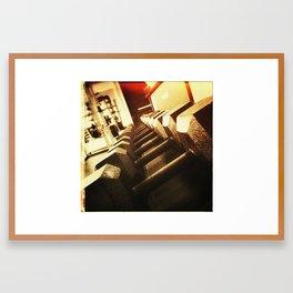 Free Wieght Framed Art Print
