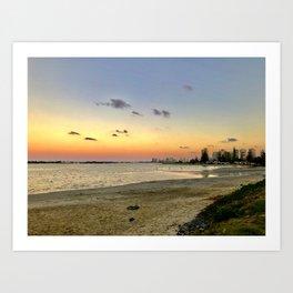 Sunset on the GC Art Print