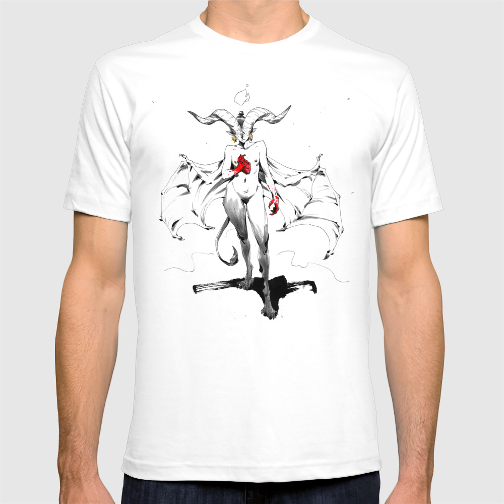 Demoness T-shirt by Andrewmar TSR3540546