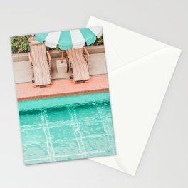 Poolside 1 Stationery Cards