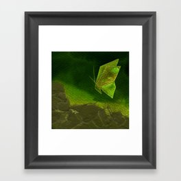 Butterfly Origami 4 Framed Art Print