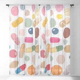 Sunny Pills Sheer Curtain