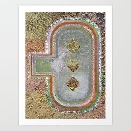 Instamosaic 02 Art Print