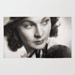 Vivien Leigh, Vintage Actress Rug