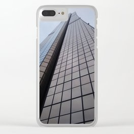 Tall Tower in Seoul Clear iPhone Case