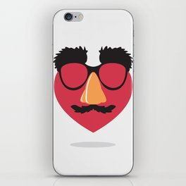 Love in Disguise iPhone Skin