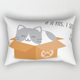 If It Fits, I Sits! Rectangular Pillow
