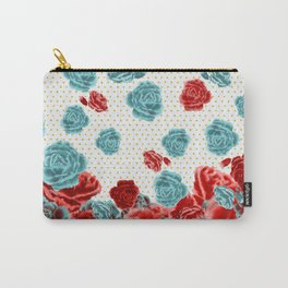 Romantic Roses Carry-All Pouch