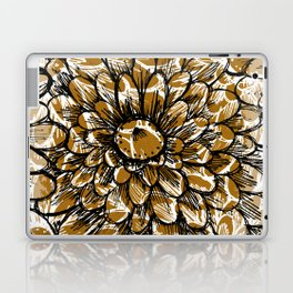 Moroccan Sunflower Laptop & iPad Skin
