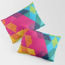 Fragmented Pillow Sham