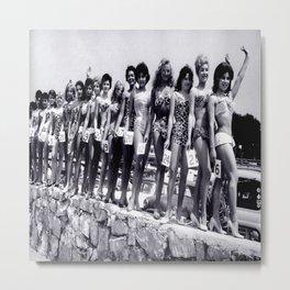 Miss Festival de Cannes 1956 Metal Print