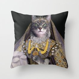 Queen Axel Throw Pillow