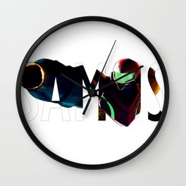 Samus Wall Clock