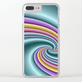3D for duffle bags and more -30- Clear iPhone Case