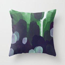 greendom Throw Pillow