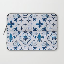 Blue Tiles Laptop Sleeve