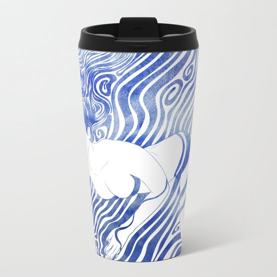 Water Nymph XVII Metal Travel Mug