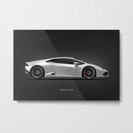 The Huracan Metal Print
